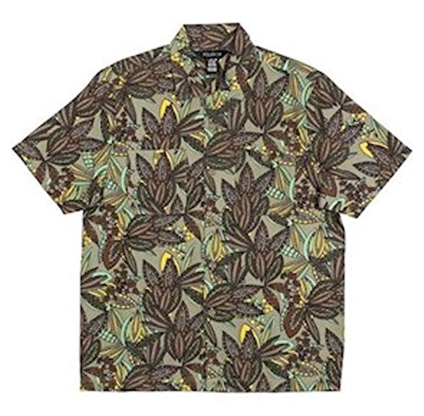 半球提案引っ張るPoler Jurassic S/S Woven Shirt Olive S シャツ 並行輸入品