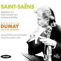 Saint-Saens: Symphony No.1, La Muse et le Poete, Cello Concerto No.1 by Pavel Gomziakov (2012-06-12)