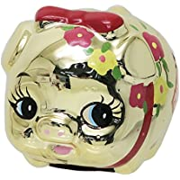 Gold Pig[貯金箱]NEW風水花豚ゴールドバンクS 東海工芸美術社 ギフト おもしろ雑貨 グッズ 通販