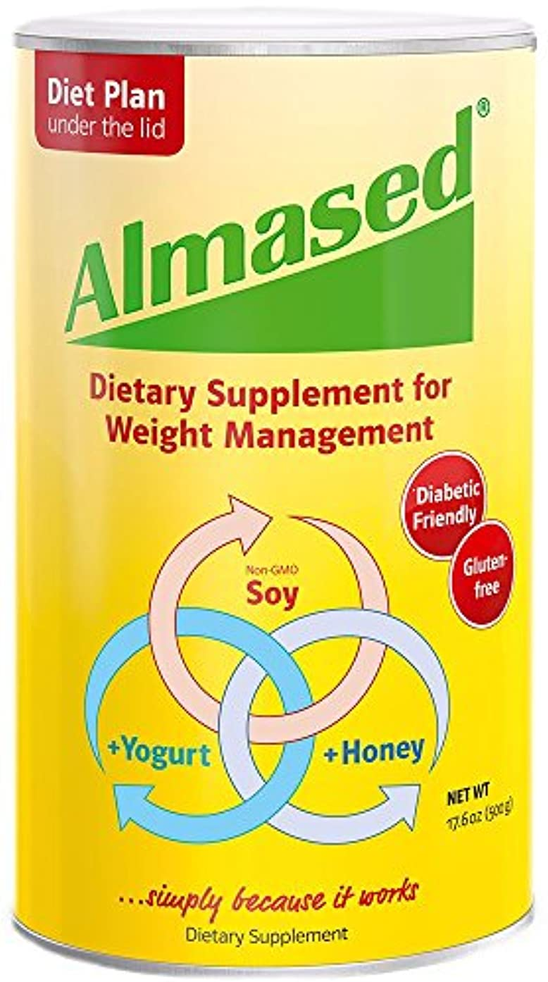 俳優抑制火傷海外直送品Almased Almased Multi Protein Powder, 17.6OZ (Pack of 5)