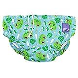 Bambino Mio Reusable Swim Diaper, Leap Frog, Large (1-2 Years)