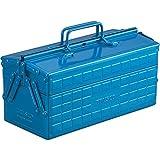 TRUSCO(トラスコ) 2段工具箱 350X160X215 ブルー ST-350-B