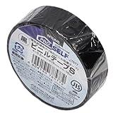 ニトムズ ビニールテープS 黒 19mm×10m J2577