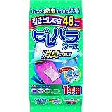 アース製薬 ピレパラアース 無臭 引き出し用 1年防虫 48包
