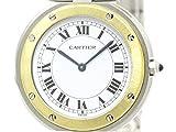 [カルティエ]Cartier【CARTIER】カルティエ サントス ラウンド K18 ゴールド ステンレススチール クォーツ メンズ 時計-(BF111824)[中古]