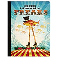 Tree-Free Greetings God Bless The Freaks Soft Cover 140 Page Recomposition College Ruled Notebook 9.75 x 7.25 Inches (CJ47332) [並行輸入品]