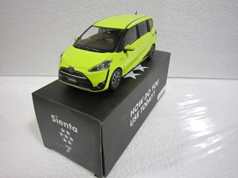トヨタ 1/30 オフィシャルミニカー カラーサンプル 新型シエンタ エアーイエロー 5B6