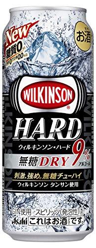 アサヒ ウィルキンソンハード 無糖ドライ 500ml 24缶