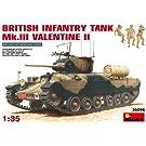 1/35 バレンタインMk.II 歩兵戦車 (フィギュア3体・エッチングシート付き)