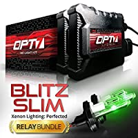 Blitz 35w スリムHIDキットバンドル 9007 Hi-Lo 9007HL-GN-DCS