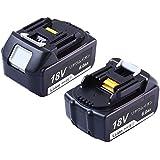 マキタ18vバッテリー BL1860 6.0ah バッテリー マキタ 互換バッテリー 18v BL1850 BL1830 対応 2個セット リチウムイオン電池 1年保証
