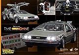 ホットToys Back to the Future Part 1DeLorean Time Machine 1/ 6スケールVehicle