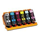 エプソン用 KUI 互換 ( クマノミ 互換 ) インクカートリッジ6色セット インク増量サイズ ISO14001/ISO9001認証工場生産商品 インクのチップスオリジナル