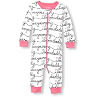 The Children's Place Baby Girls Blanket Sleepers White 96427 3-6MONTHS [並行輸入品]