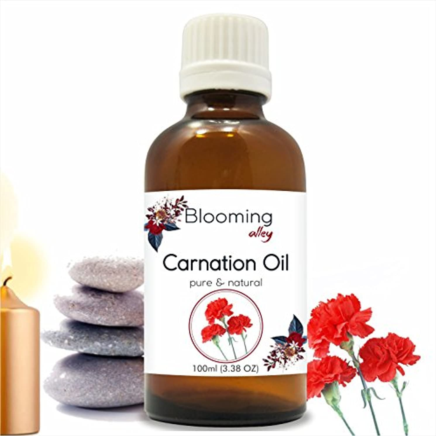 ドラマ解決スコットランド人Carnation Essential Oil (Dianthus Caryophyllus) 100 ml or 3.38 Fl Oz by Blooming Alley