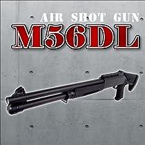1/1スケール高威力高性能3バレルエアコッキングショットガンM3 M56DLエアガン