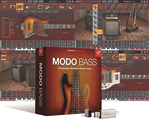IK Multimedia MODO BASS 初回限定版 フィジカル・モデリング・エレクトリック・ベース音源【国内正規品】