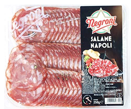 ネグローニ ナポリ サラミ スライス 250g 冷蔵