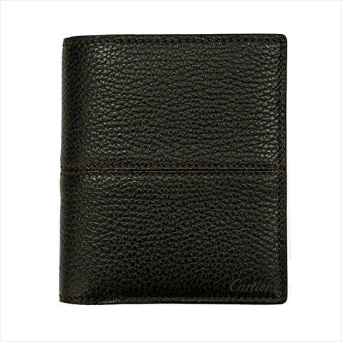 (カルティエ)Cartier サドルステッチ 二つ折り財布 ...