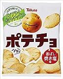 東ハト ポテチョ香ばし焼き塩味 62g×12袋