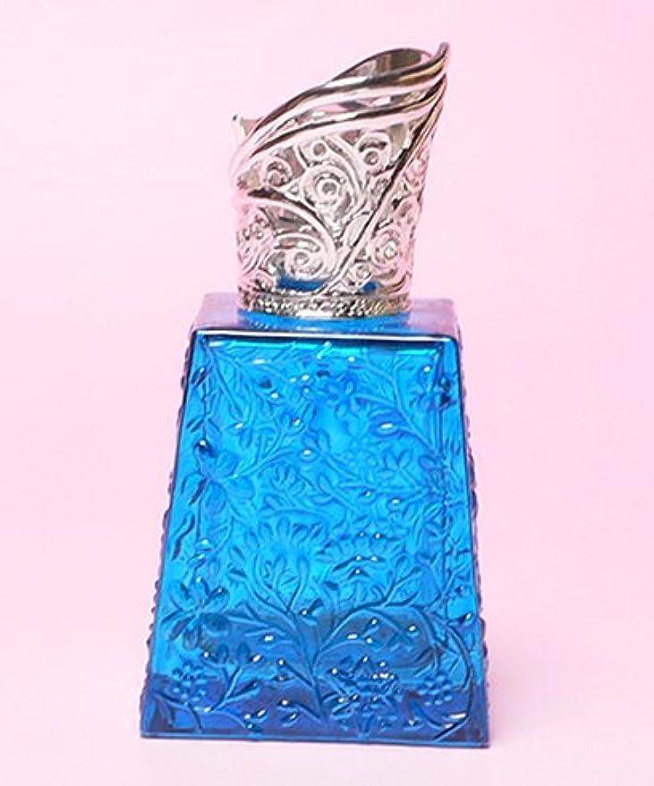 前投薬リングバック刺繍【ミニランプ】 ミスト MB ブルー ランプベルジェ製アロマオイルでも使用可