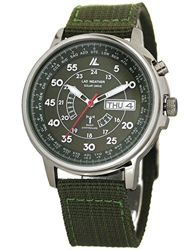 [ラドウェザー]LAD WEATHER 腕時計 電波ソーラー パーペチュアル カレンダー 100m防水 電波時計 メンズ