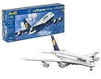 ドイツレベル 1/144 エアバスA380 ルフトハンザ 4270 プラモデル