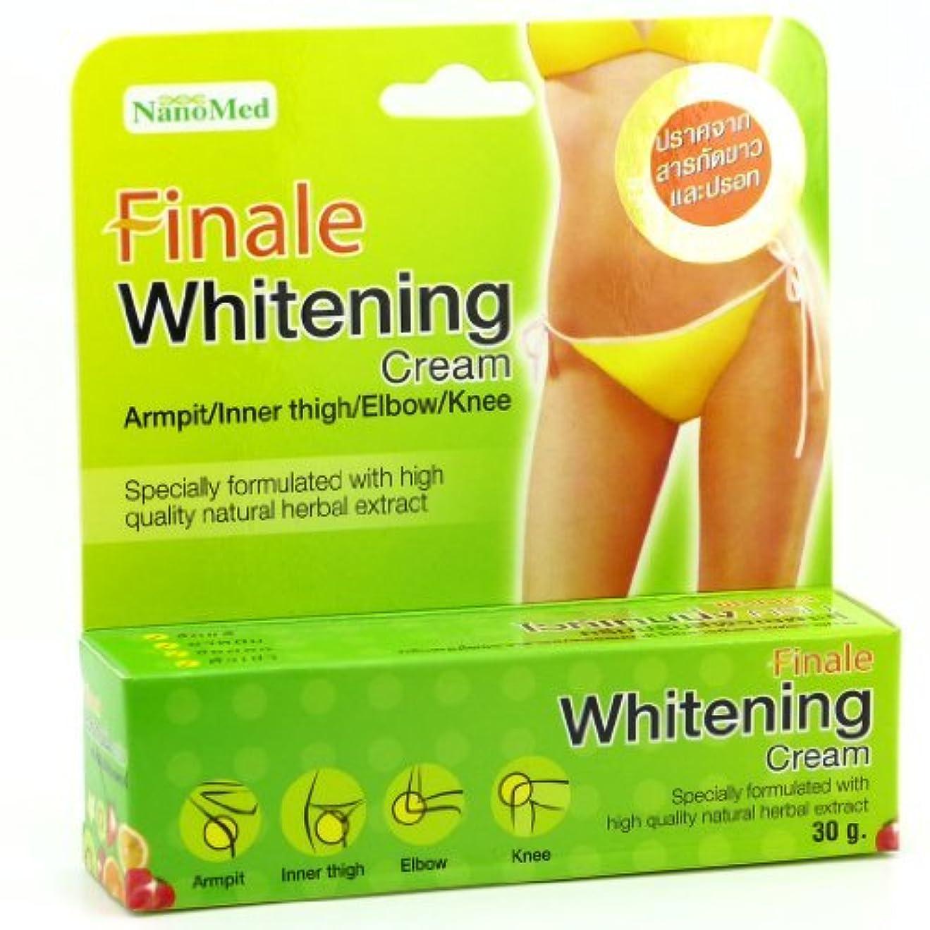 理容師見込みトランスペアレント?????????????????? Finale Whitening Cream 30g