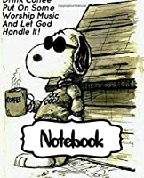 Notebook: The Peanuts Little White Snoopy Beagle Dog House Comics Strip Animation Boys Kids Adults Supplies Student Teacher Daily Creative Writing, Soft Glossy Cover College Ruled Lined Pages Book 7.5 x 9.25 Inches 110 Pages