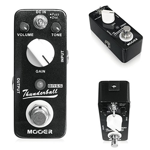 [해외]MOOER | THUNDERBALL 무아 기반 퍼즈 왜곡/MOOER | THUNDERBALL Moore Base Fuzz distortion
