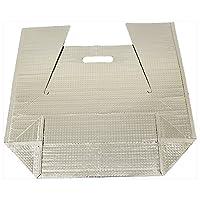 酒井化学工業 保冷袋 ミナクールパック CH5 角底袋(持ち手穴付) 小 225×110+125+190mm 100枚