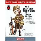 1/12 ワールドファイターシリーズ FT4 WWIIソビエト陸軍女性兵士