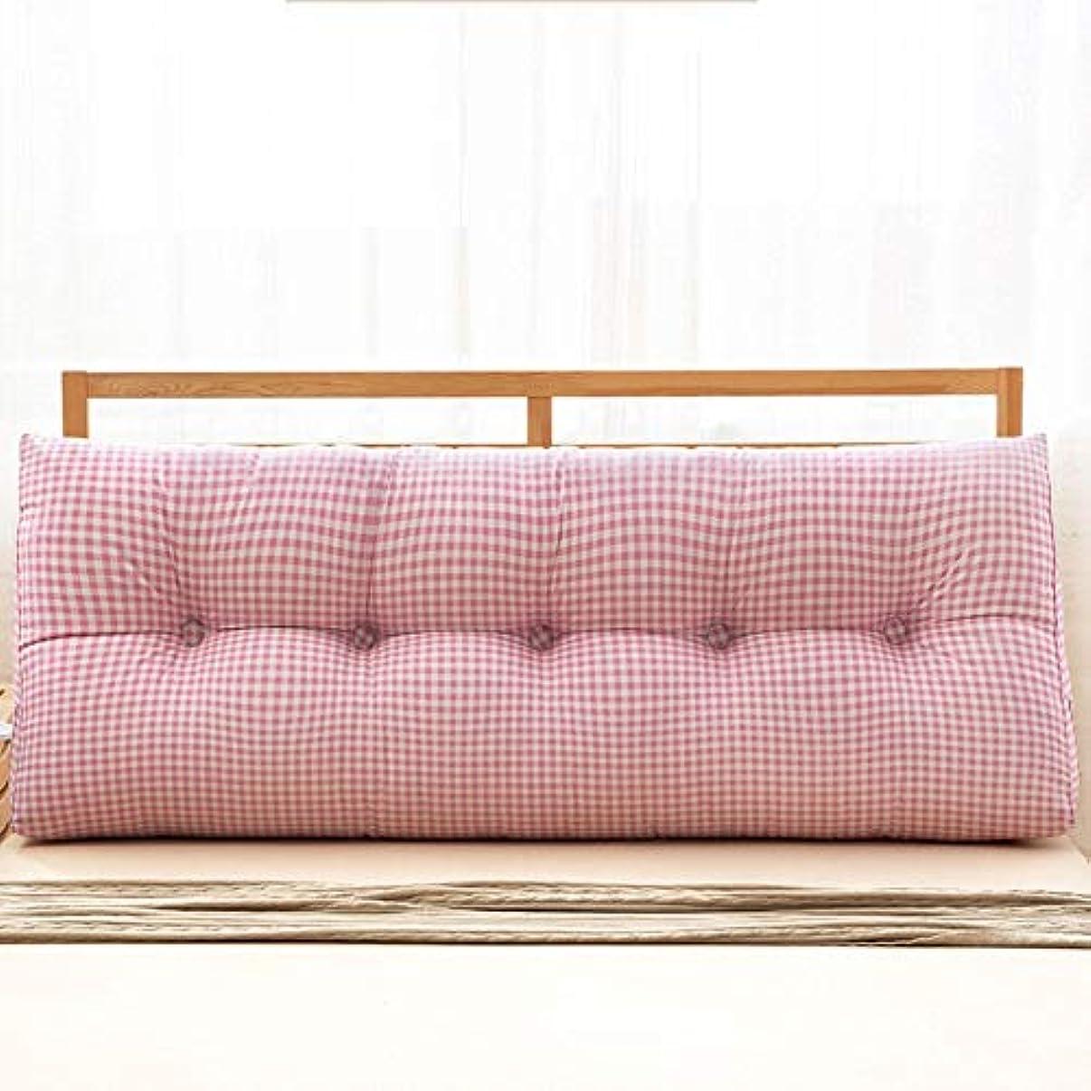 バン心配に付ける18-AnyzhanTrade コットン枕ソファ大きな枕枕クッション (Color : 3, サイズ : 22*50*100)