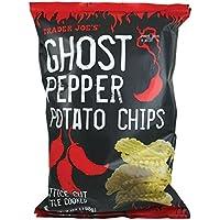 海外直送Trader Joe's Ghost Pepper Potato Chips トレーダージョーズ ゴースト ペッパー 激辛  ケトルタイプ 釜揚げ製法 198g (7 oz)