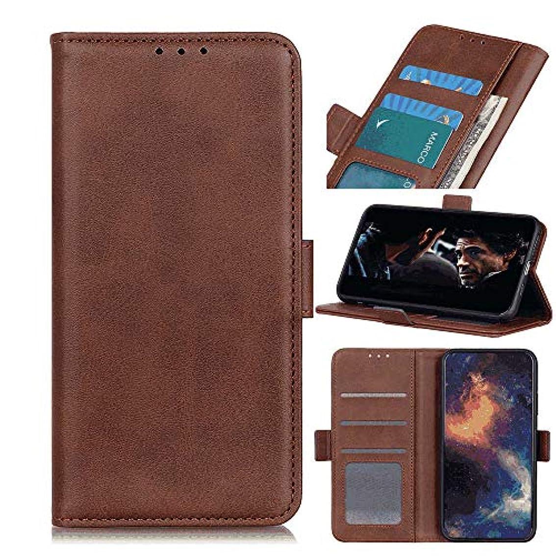 設計図短くする不快な手帳型 ケース 対応 アイフォン iPhone XR, PUレザー 本革 耐衝撃 財布 カバー収納 スマートフォンケース