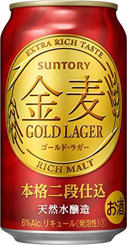 金麦 ゴールドラガー [ 350ml×24本 ]