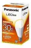 パナソニック LED電球 E26口金 電球30W形相当 電球色相当(6.3W) 一般電球・下方向タイプ 密閉形器具対応 LDA6LH2
