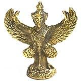 真鍮製の小さな置物 ガルーダ