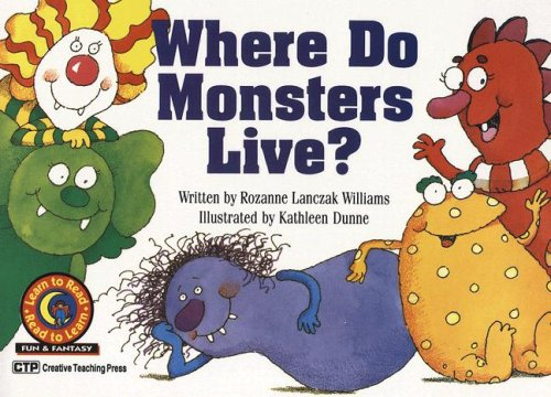 Where Do Monsters Live? (Learn to Read Read to Learn Fun & Fantasy)の詳細を見る