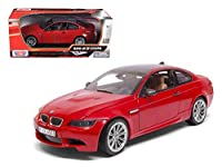 BMW 3シリーズ ミニカー 1/18 MOTOR-MAX BMW 3-SERIES M3 COUPE 2008 RED 73182R