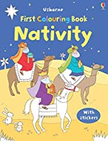Nativity Colouring and Sticker Book (First Colouring Books with stickers)