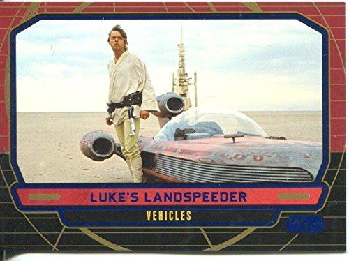 スターウォーズ Star Wars Galactic Files Blue Parallel #269 Luke's Landspeeder ランドスピーダー [並行輸入品]