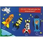 Cartes d'Art社 ポストカード ロケット お誕生日おめでとう
