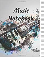 Music Notebook: Blank Music Notebook: for musicians, composers, students, and educators (8.5x11), 110 pages 13 stave per page