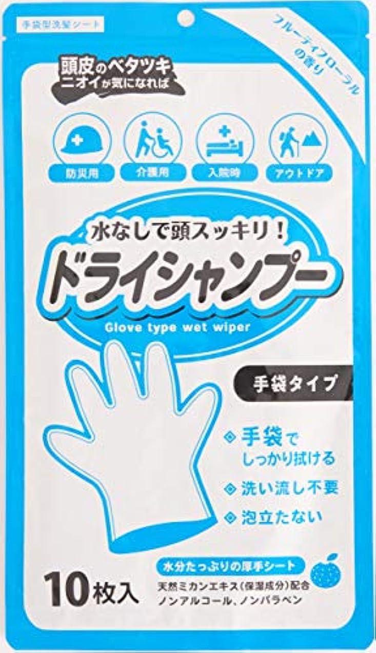 粒昼間リーシャンプー手袋 10枚