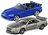 2台セット トミカ プレミアムタカラトミーモール 限定 ホンダ S2000 TYPE S + 日産 スカイライン GT-R V-SPEC 2 Nur