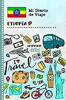 Etiopia Diario de Viaje: Libro de Registro de Viajes Guiado Infantil - Cuaderno de Recuerdos de Actividades en Vacaciones para Escribir, Dibujar, Afirmaciones de Gratitud para Niños y Niñas
