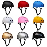 alohapi スポーツ ヘルメット Lサイズ 56-60cm 男女 兼用 選べる カラー スケボー スノボー インライン スケート に