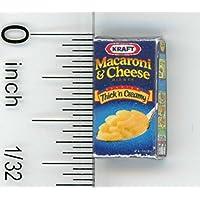 ドールハウスミニチュア人気ボックスのマカロニ&チーズby Cindi 's Mini 's by Cindi 's Minis
