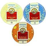 NIN JIOM Nin Jiom Herbal Candy- 3 Tins (Mint, Original, Tangerine-Lemon)